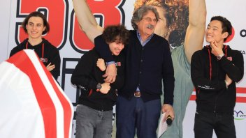 "Moto3: Simoncelli: ""My goal is to bring the team to the MotoGP."""