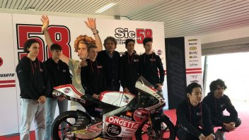 "Moto3: SIC58 team presentation at Misano: ""Never be satisfied"""