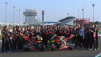 """MotoGP: Ecco la nuova Aprilia. Iannone: """"Spero di guidarla il prima possibile"""""""