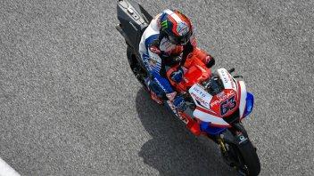 """MotoGP: Bagnaia: """"Dopo la simulazione sentivo bruciare mani, schiena e piedi"""""""