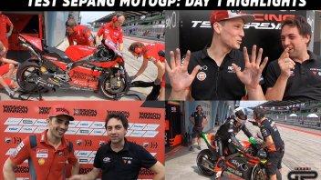 MotoGP: Test Sepang MotoGP: gli Highlights della prima giornata di Shakedown
