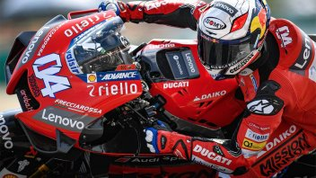 "MotoGP: Dovizioso: ""All new Ducati but the Michelins make the difference"""