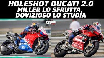 MotoGP: Ducati Holeshot 2.0: Miller lo sfrutta, Dovizioso lo studia