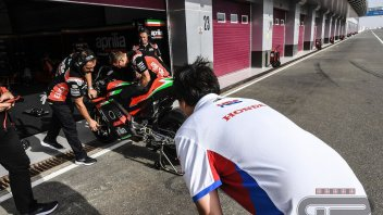 MotoGP: Honda in difficulty goes to school in Noale: HRC spies on the new Aprilia