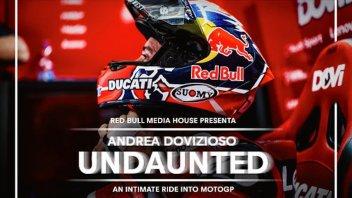 """MotoGP: """"Undaunted"""", Dovizioso: il trailer del docu-film targato Red Bull"""
