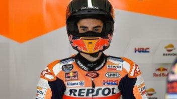 """MotoGP: Marquez: """"La caduta? Ero stanco, sennó l'avrei evitata con il gomito"""""""