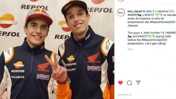 MotoGP: Doppietta Marquez, per la prima volta insieme con i colori HRC