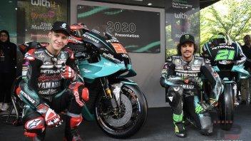 """MotoGP: Quartararo: """"Non sono l'uomo che ha rimpiazzato Rossi"""""""
