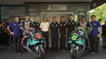 MotoGP: LIVE Presentazione Yamaha Petronas: le moto di Quartararo e Morbidelli