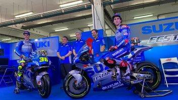 MotoGP: La Suzuki si veste di argento e punta in alto: svelati i colori 2020