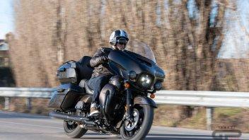 Prodotto - Test: Prova Harley-Davidson Electra Glide Ultra Limited 2020, tecnologica!