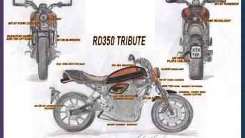 "Moto - News: ""Yamaha Back to the Drawing Board"": vince Coppola con la sua RD350 Tribute"