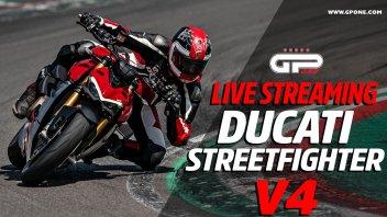 Moto - News: Ducati Streetfighter V4, LIVE presentazione: ecco la Fight Formula