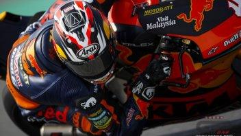 Moto2: GP QATAR. KTM all'attacco nel warm up con Nagashima e Fernandez