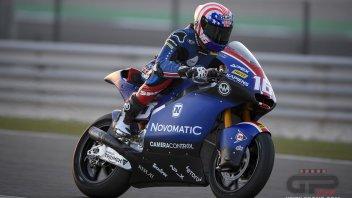Moto2: GP Qatar, Roberts mette in riga Bezzecchi e Marini nella FP2 di Losail
