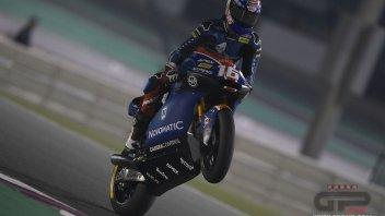 Moto2: GP Qatar, Roberts in pole ma è grande Italia: Marini 2°, Bastianini 3°