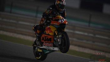 Moto2: GP Qatar, Nagashima batte Baldassarri e Bastianini. Caduta per Marini