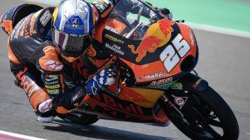 Moto3: GP Qatar, Il migliore è ancora Fernandez davanti a Dennis Foggia