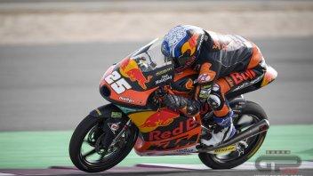 Moto3: GP Qatar, Fernandez brilla nelle FP2 di Losail, 5° Arbolino