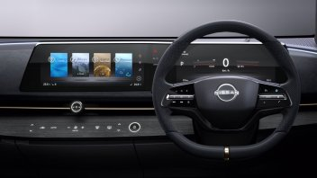 Auto - News: Nissan: il futuro sarà senza tablet. Ariya spiana la strada