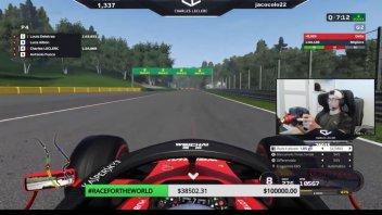 Auto - News: Formula 1 - Ferrari and Leclerc for the China Virtual GP
