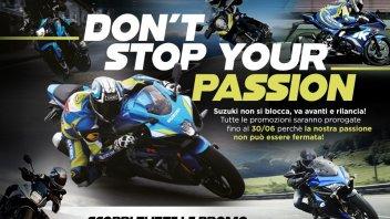 """Moto - News: Suzuki: parte l'iniziativa """"Don't Stop Your Passion"""""""