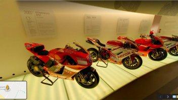 Moto - News: Il museo Ducati ha le porte (virtuali) aperte: ecco come visitarlo