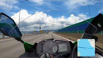 Moto - News: Si filma sul ponte di Penang (Malesia) a folle velocità: arrestato