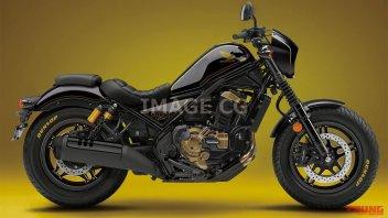 Moto - News: Honda: una Rebel con il cuore bicilindrico 1100 dell'Africa Twin?