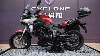 Moto - News: Cyclone RX6, la crossover cinese con il motore Norton