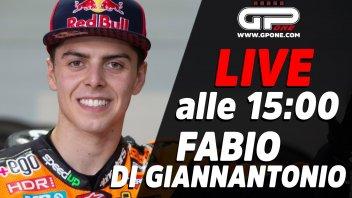Moto2: LIVE - Fabio Di Giannantonio in diretta alle 15:00 sui nostri social
