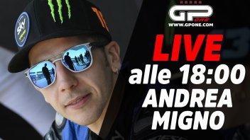 Moto3: LIVE - Andrea Migno ospite in diretta alle 18:00 su GPone