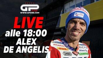 MotoE: LIVE - Alex De Angelis sarà ospite della diretta alle 18:00 su GPOne