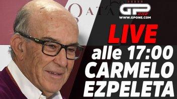 MotoGP: LIVE - Carmelo Ezpeleta ospite della diretta alle 17:00 su GPOne