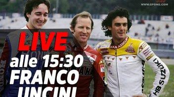 MotoGP: LIVE - Franco Uncini in diretta alle 15:30 sui nostri Social