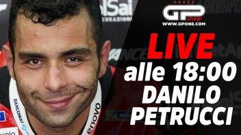 MotoGP: LIVE - Danilo Petrucci ospite della diretta alle 18:00 su GPOne