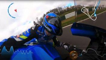 MotoGP: Il salto di Cadwell Park in 360° con Sylvain Guintoli e la Suzuki GSX-R
