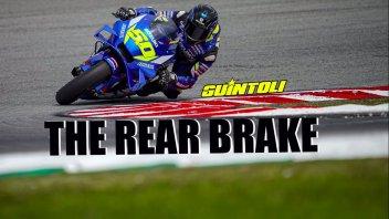 MotoGP: Guintoli: Ecco come in MotoGP si sfrutta il freno posteriore in pista