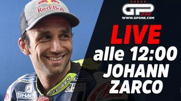 MotoGP: LIVE - Johann Zarco risponde alle domande dei tifosi su GPone