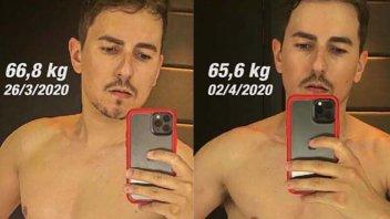 MotoGP: Perdete peso ed entrate nella tuta dopo la quarantena con Jorge Lorenzo