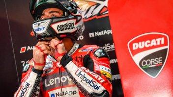 """MotoGP: Petrucci: """"La gara è virtuale ma la competizione è vera"""""""