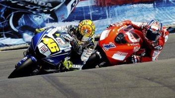 MotoGP: Rossi: da Biaggi a Stoner, i rivali sono benzina per migliorare