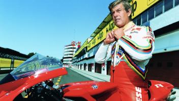 """MotoGP: Mino Agostini su Instagram da Bergamo: """"E' un momento delicato e triste"""""""