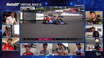 MotoGP: Virtual Race: Trionfo di Bagnaia all'ultimo giro