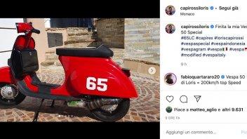 MotoGP: Una Vespa da MotoGP per Loris Capirossi