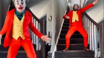 SBK: Quarantine changes you: Carl Fogarty as The Joker!