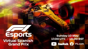 Auto - News: Formula1 Virtual GP – Leclerc e Ferrari contro Red Bull a Barcellona