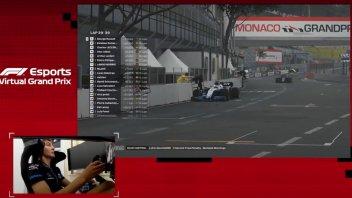 Auto - News: F1 Virtual - Russel domina a Montecarlo, Leclerc terzo con la Ferrari