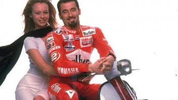 """Moto - News: Max Biaggi to Anna Falchi: """"If you'd been born a man, you would've flown planes"""""""