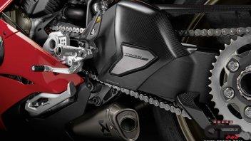 Moto - News:  La Panigale V4 pronta per la pista con il pacchetto accessori Racing